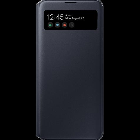 Samsung S-View Wallet Cover Galaxy A71 - Schwarz 99930311 hero