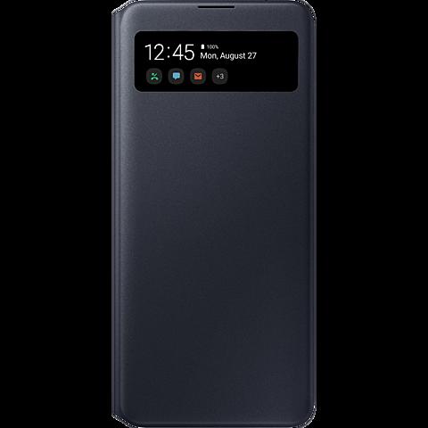Samsung S-View Wallet Cover Galaxy A71 - Schwarz 99930311 vorne