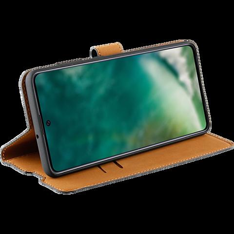 xqisit Slim Wallet Selection Samsung Galaxy A51 - Schwarz 99930321 seitlich
