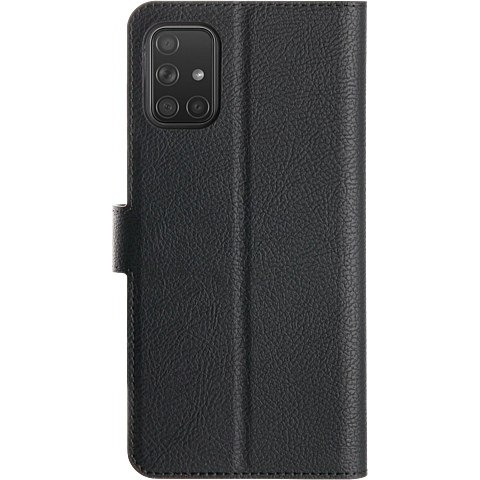 xqisit Slim Wallet Selection Samsung Galaxy A51 - Schwarz 99930321 hinten