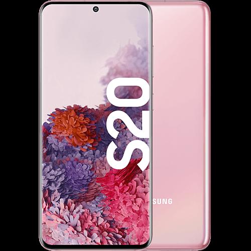 Samsung Galaxy S20 Cloud Pink Vorne und Hinten