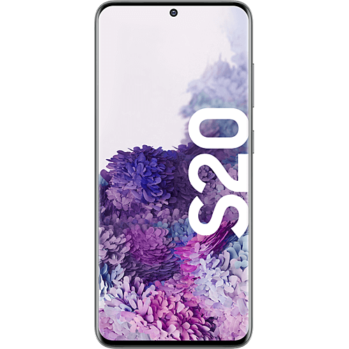 Samsung Galaxy S20 Cosmic Gray Vorne