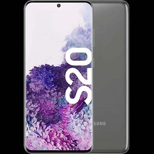 Samsung Galaxy S20 Cosmic Gray Vorne und Hinten