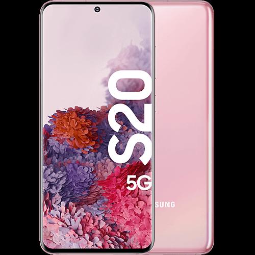 Samsung Galaxy S20 5G Cloud Pink Vorne und Hinten