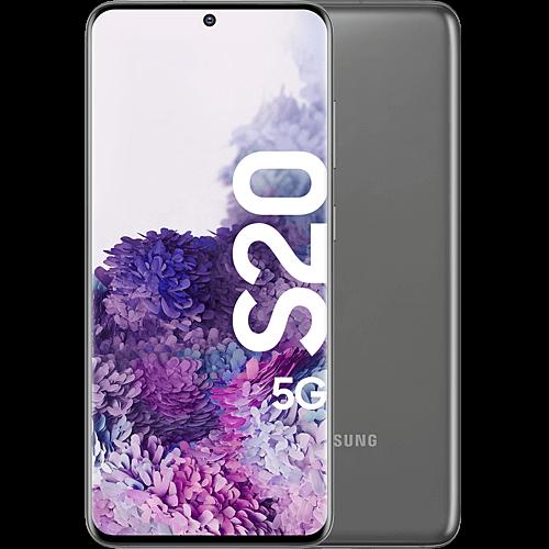 Samsung Galaxy S20 5G Cosmic Gray Vorne und Hinten