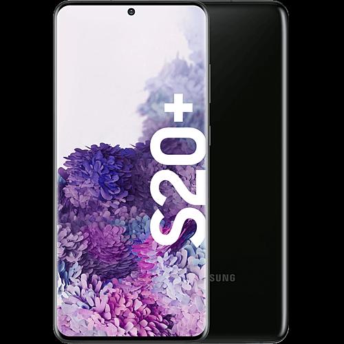 Samsung Galaxy S20+ Cosmic Black Vorne und Hinten