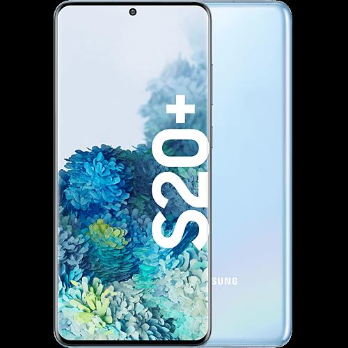 Samsung Galaxy S20+ Cloud Blue Vorne und Hinten