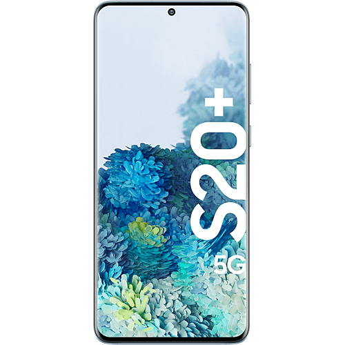 Samsung Galaxy S20+ 5G Cloud Blue Vorne