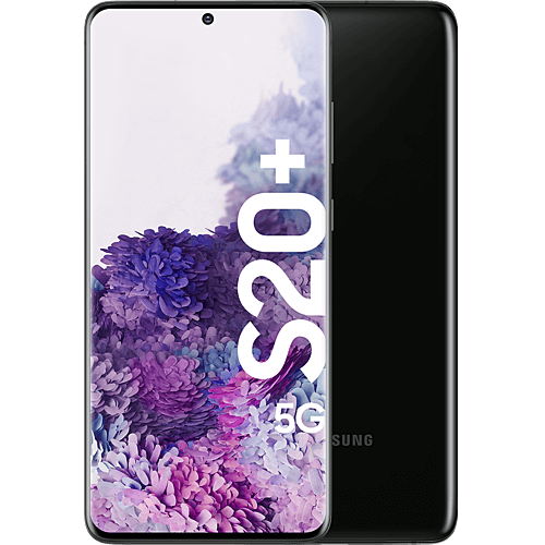 Samsung Galaxy S20+ 5G Cosmic Black Vorne und Hinten