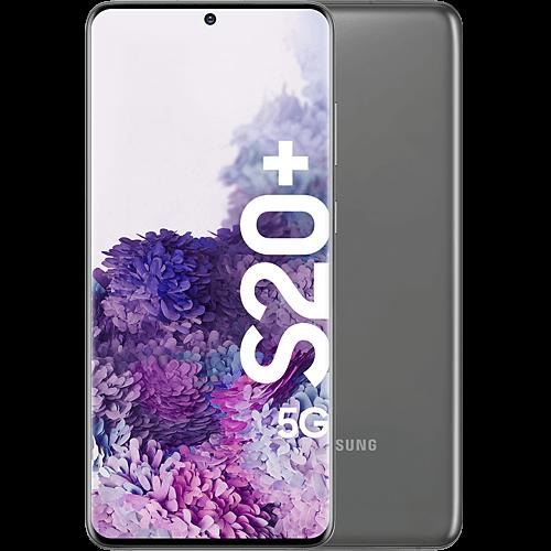 Samsung Galaxy S20+ 5G Cosmic Gray Vorne und Hinten