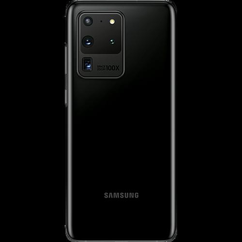 Samsung Galaxy S20 Ultra 5G Cosmic Black Hinten