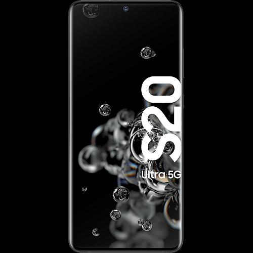 Samsung Galaxy S20 Ultra 5G Cosmic Black Vorne