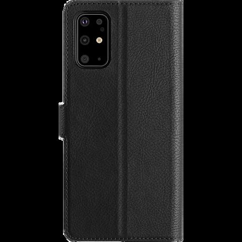 xqisit Slim Wallet Selection Samsung Galaxy S20+ - Schwarz 99930347 hinten