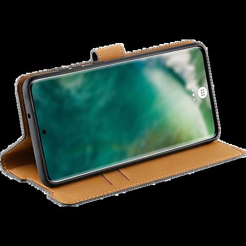 xqisit Slim Wallet Selection Samsung Galaxy S20+ - Schwarz 99930347 seitlich