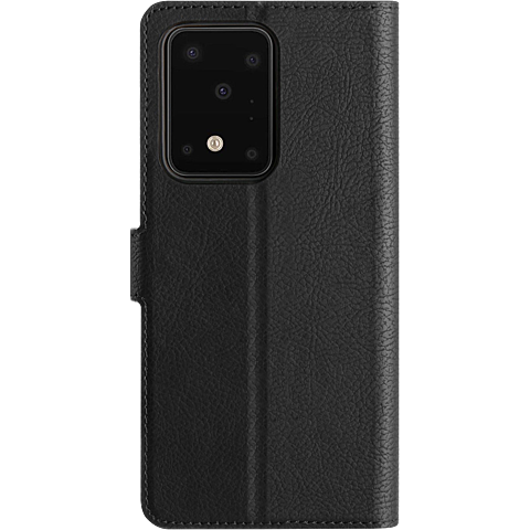 xqisit Slim Wallet Selection Samsung Galaxy S20 Ultra - Schwarz 99930330 seitlich