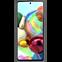 Tech21 Studio Colour Hülle Samsung Galaxy A71 - Schwarz 99930475 hinten thumb
