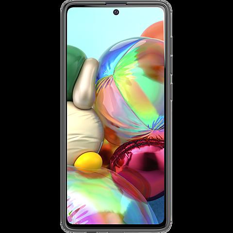 Tech21 Studio Colour Hülle Samsung Galaxy A71 - Schwarz 99930475 hinten