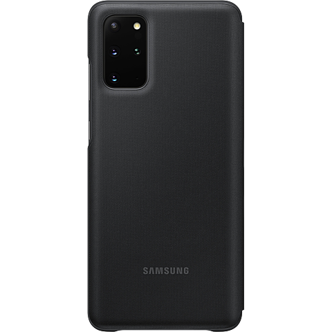 Samsung LED View Cover Galaxy S20+ - Schwarz 99930466 hinten
