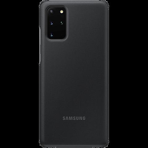 Samsung Clear View Cover Galaxy S20+ - Schwarz 99930463 hinten