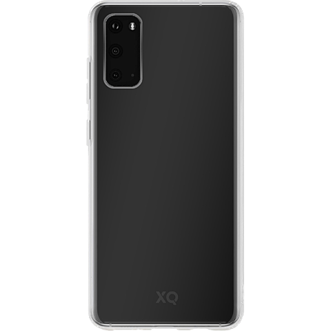 xqisit Flex Case Samsung Galaxy S20 - Transparent 99930334 vorne