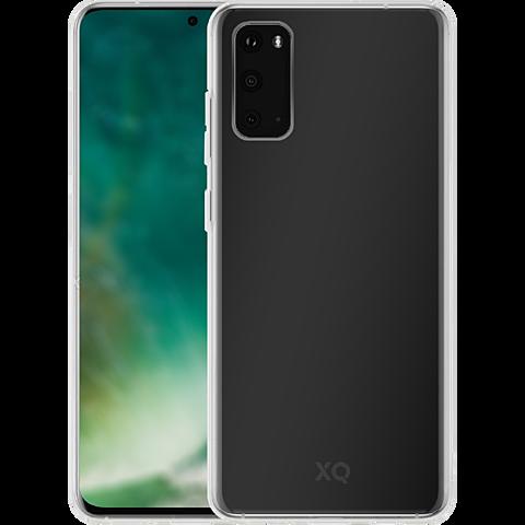 xqisit Flex Case Samsung Galaxy S20 - Transparent 99930334 seitlich