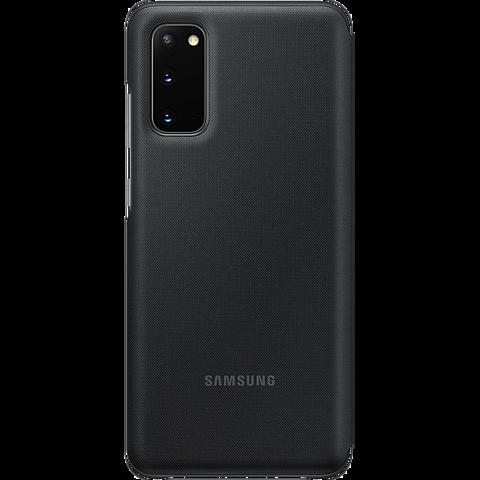 Samsung LED View Cover Galaxy S20 - Schwarz 99930457 hinten