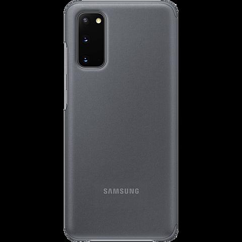 Samsung Clear View Cover Galaxy S20 - Grau 99930456 hinten