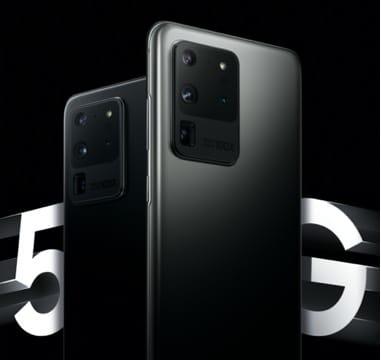 Samsung Galaxy S20 Smartphone scharz 5G