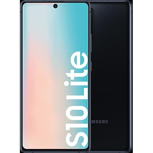 Samsung Galaxy S10 Lite Prism Black Vorne und Hinten