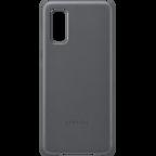 Samsung Leder Cover Galaxy S20 - Grau 99930458 kategorie