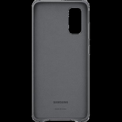 Samsung Leder Cover Galaxy S20 - Grau 99930458 hinten