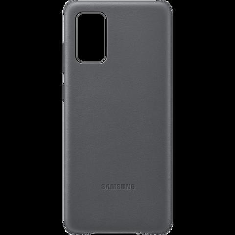 Samsung Leder Cover Galaxy S20+ - Grau 99930467 vorne