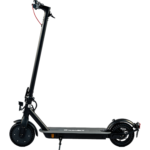 IconBit City Kick Scooter - Schwarz 99930504 vorne