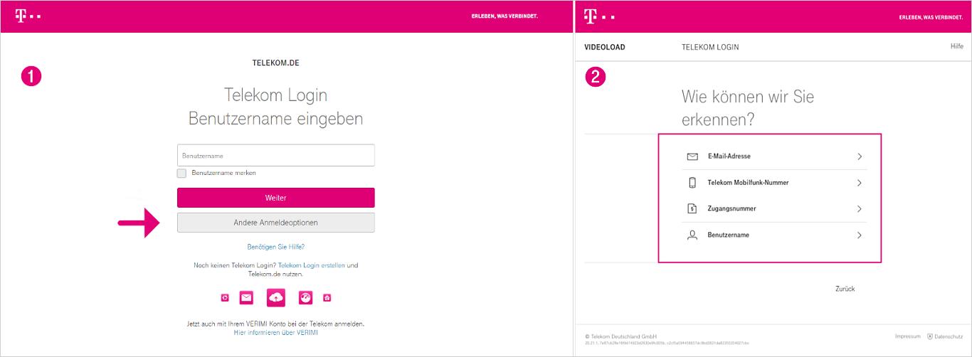 Telekom Login vergessen | Telekom Hilfe