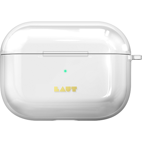 LAUT Crystal-X Case Apple AirPods Pro Ladecase - Transparent 99930622 vorne