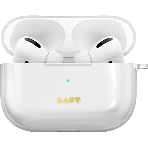 LAUT Crystal-X Case Apple AirPods Pro Ladecase - Transparent 99930622 seitlich