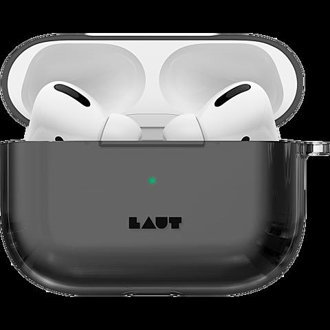 LAUT Crystal-X Case Apple AirPods Pro Ladecase - Schwarz 99930623 seitlich
