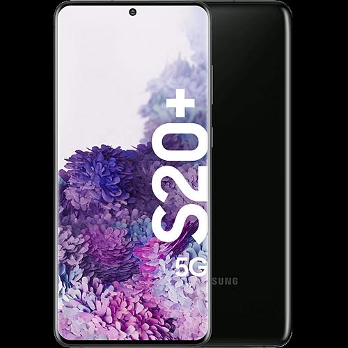 Samsung Galaxy S20+ 5G Enterprise Edition Cosmic Black Vorne und Hinten