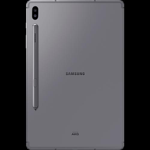 Samsung Galaxy Tab S6 LTE Mountain Grey Hinten