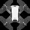 Ryze Tello Drohne - Weiß 99930624 hinten thumb
