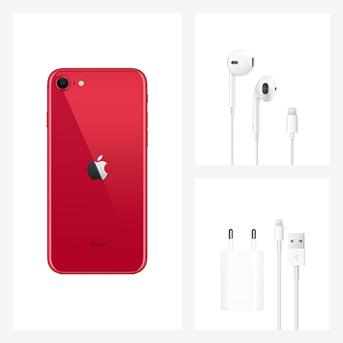 Apple iPhone SE (2. Gen) PRODUCT RED Lieferumfang