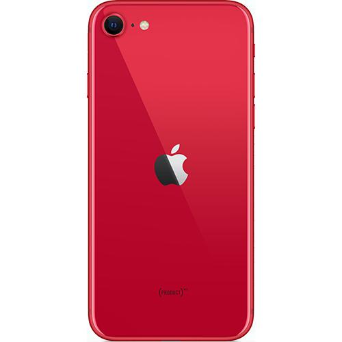 Apple iPhone SE (2. Gen) PRODUCT RED Hinten