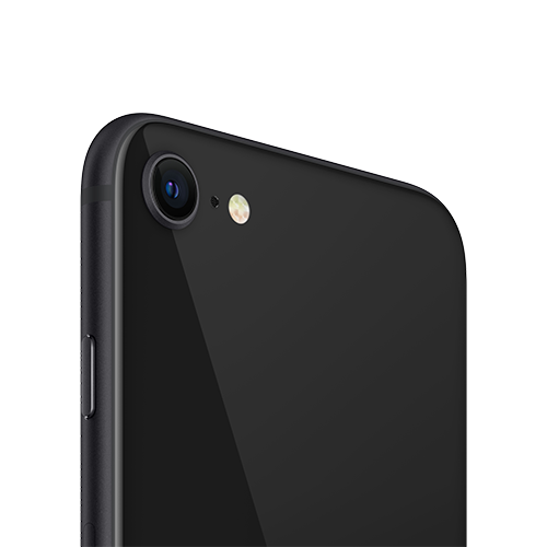 Apple iPhone SE (2. Gen) Schwarz Kamera