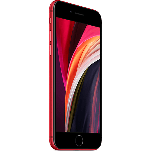 Apple iPhone SE (2. Gen) PRODUCT RED Seitlich