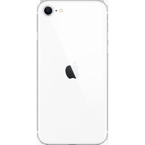 Apple iPhone SE (2. Gen) Weiß Hinten