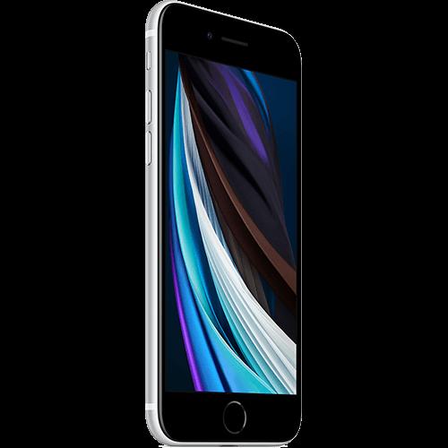 Apple iPhone SE (2. Gen) Weiß Seitlich