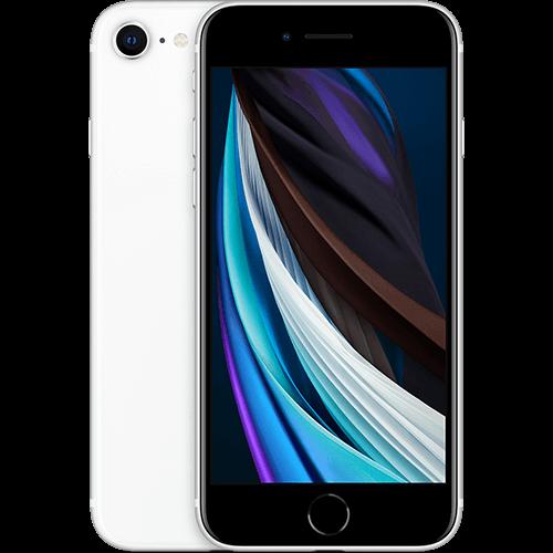 Apple iPhone SE (2. Gen) Weiß Vorne und Hinten