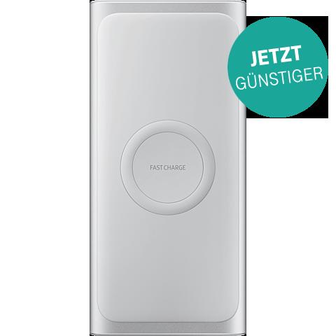 Samsung Induktive Wireless Powerbank - Silber 99929181 vorne