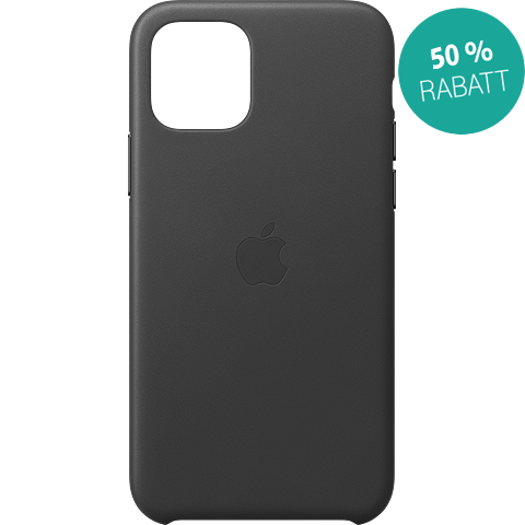Apple Leder Case iPhone 11 Pro - Schwarz 99929806 vorne