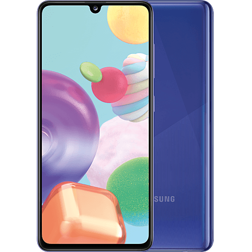 Samsung Galaxy A41 Blue Vorne und Hinten